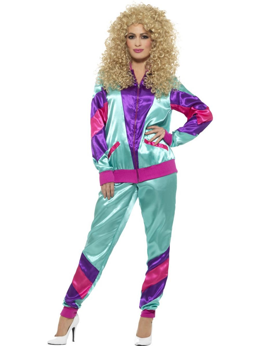 80s Height of Fashion Shell Suit Costume Female