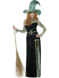 Deluxe Emerald Witch Costume