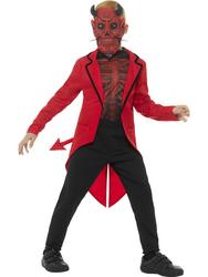 Deluxe Day of the Dead Devil Boy Costume Large