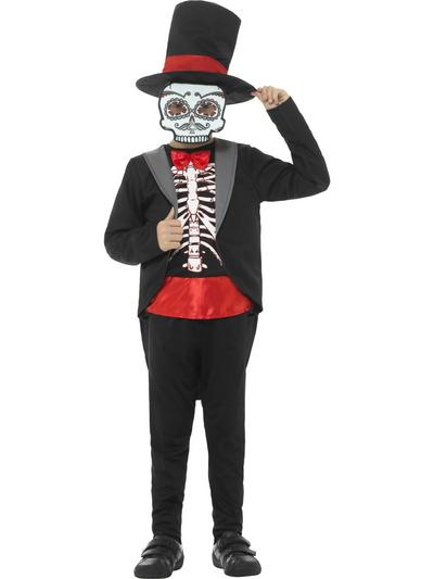 Day of the Dead Boy Fancy Dress Costume