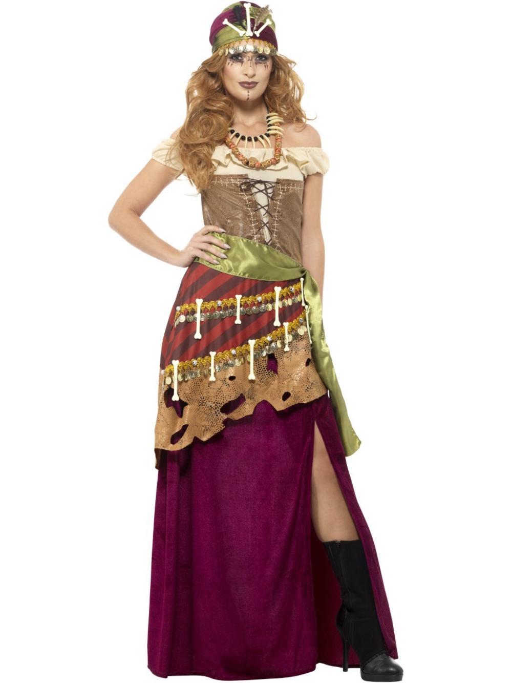 Deluxe Voodoo Priestess Costume