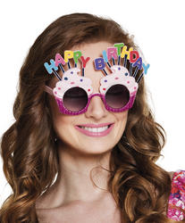 Happy Birthday Glasses Costume Accessory