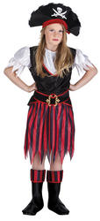 Pirate Annie Girls Costume