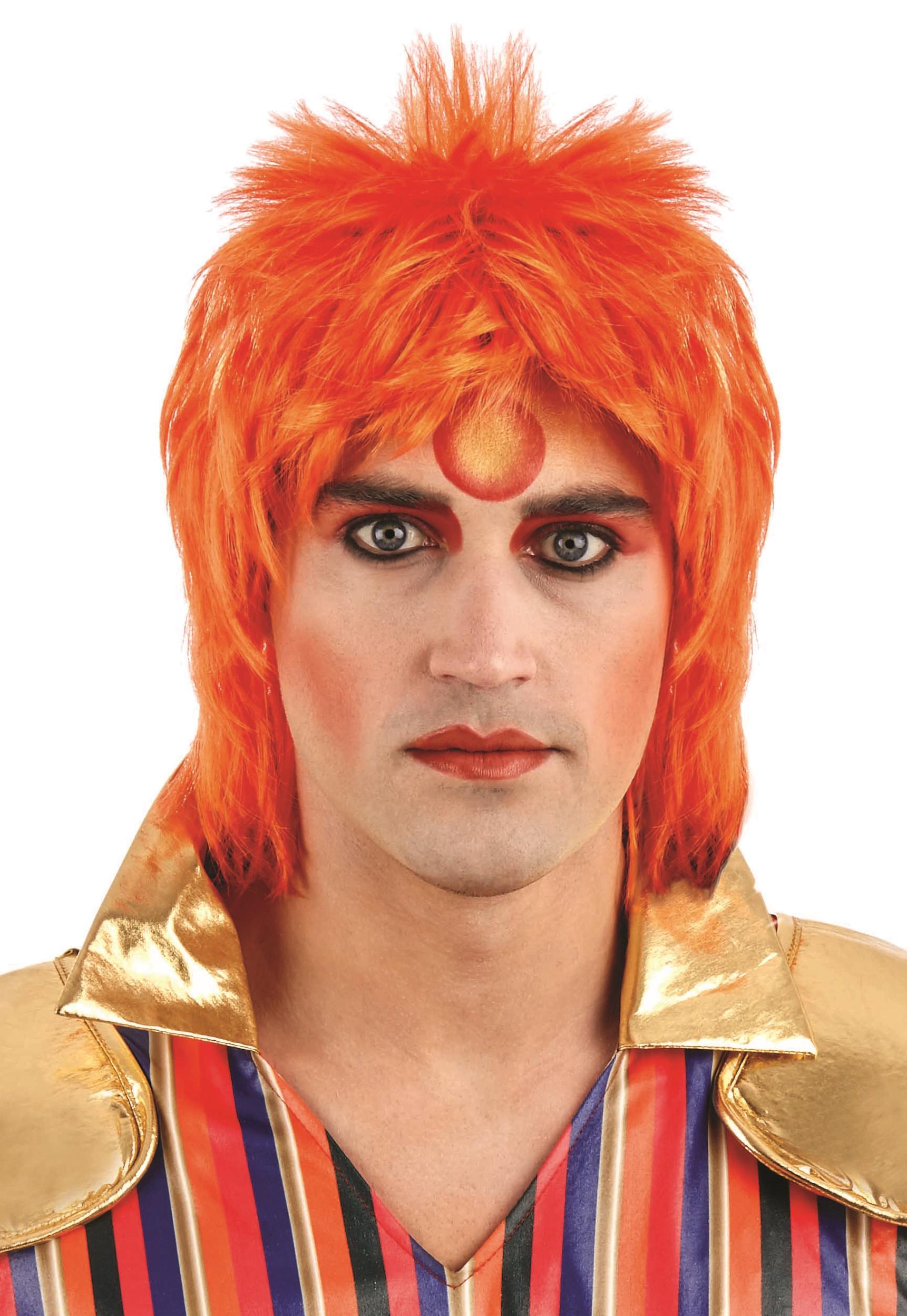 Ginger Glam Rock Mens Wig  2251f5d6d