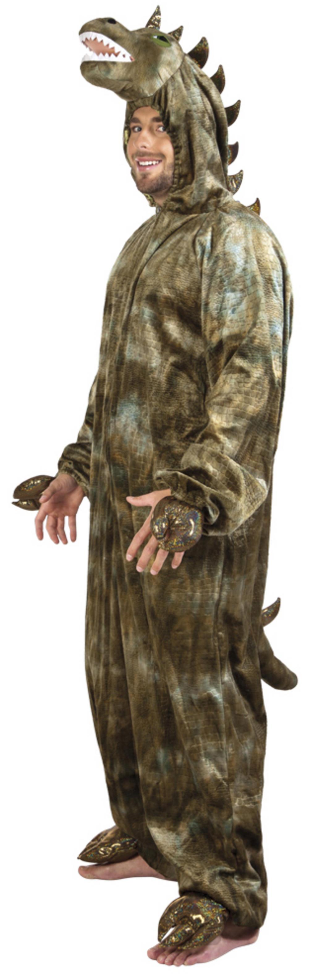 Plush Dinosaur Adults Costume