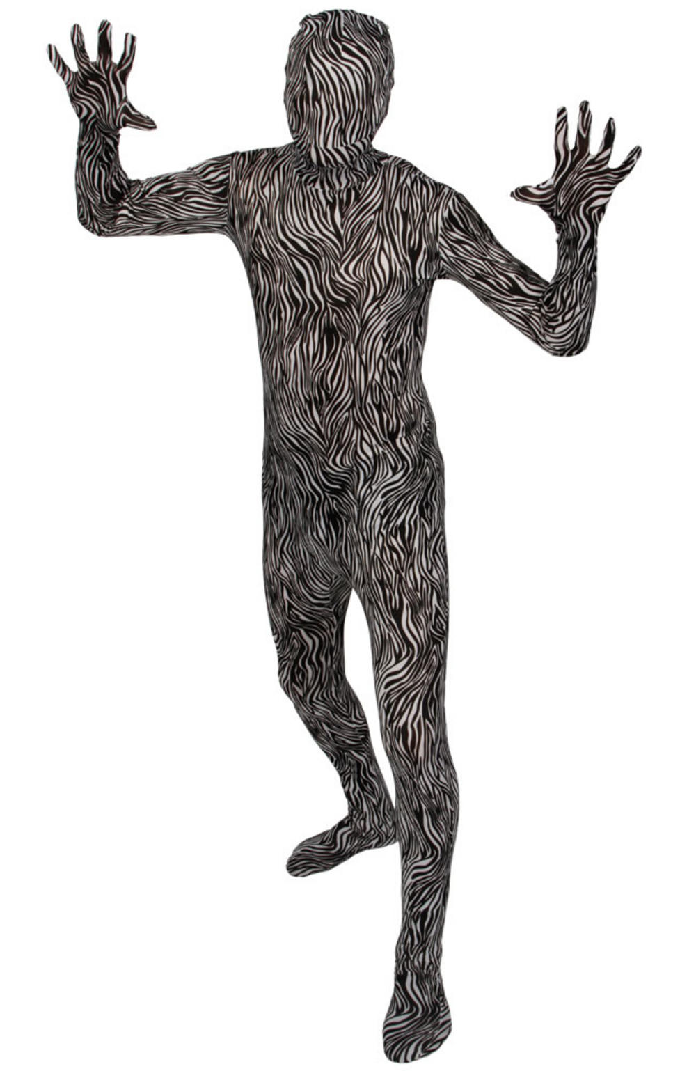 Zebra Print Skinz Suit