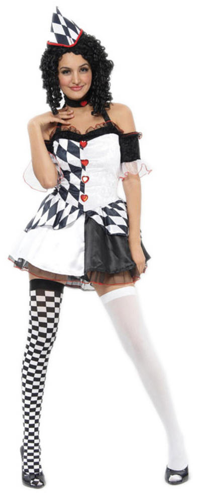 Harlequin Jester Costume