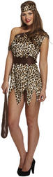 Ladies Cavewoman Costume