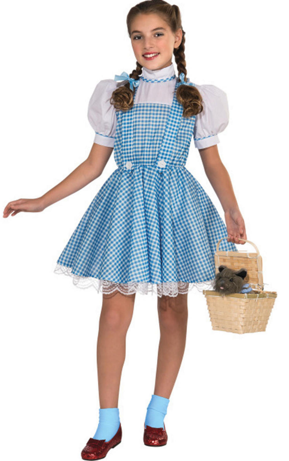 Girl's Wizard of Oz Deluxe Dorothy Costume | Girl's World Book Day ...