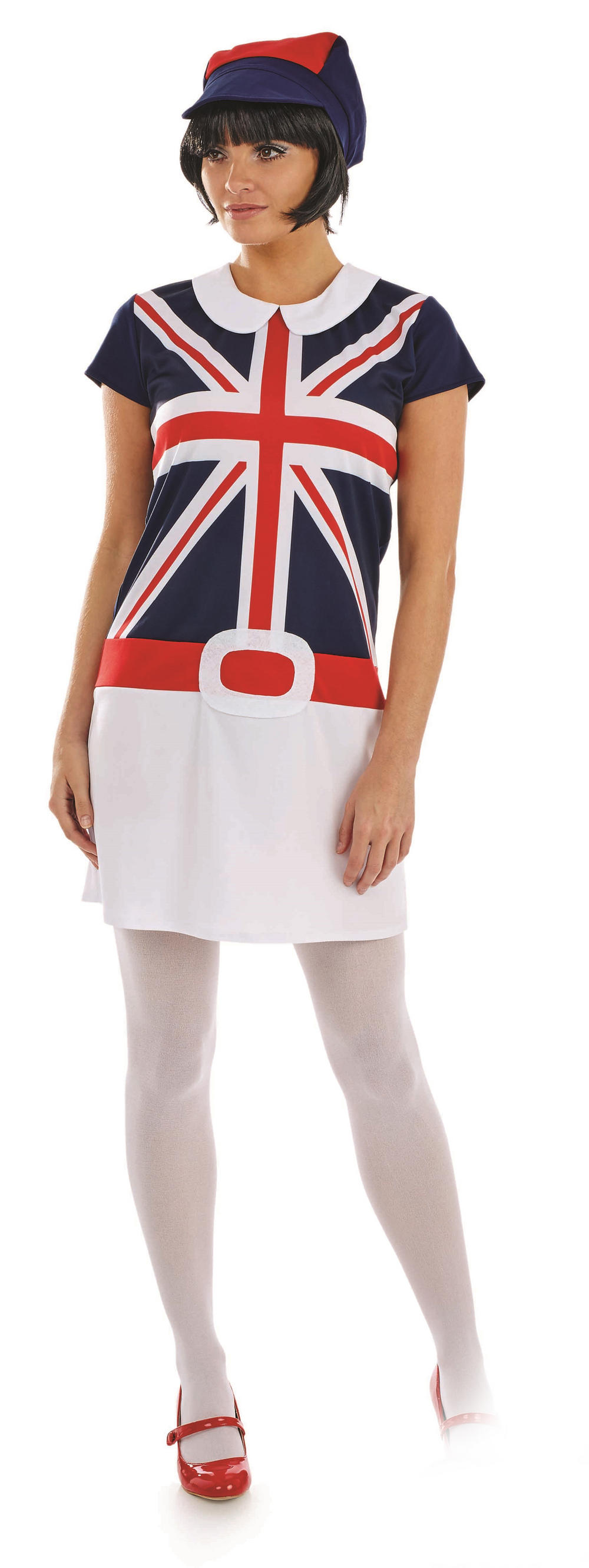 60s Mod Girl Ladies Costume