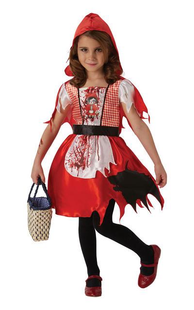 Dead Riding Hood Kids Costume