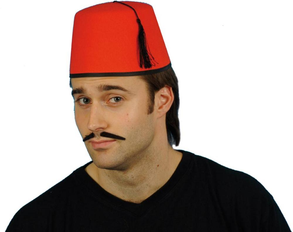 640af0c90b12a Red Fez Hat | National Dress Accessories | Mega Fancy Dress