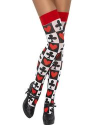 Poker Pattern Stockings