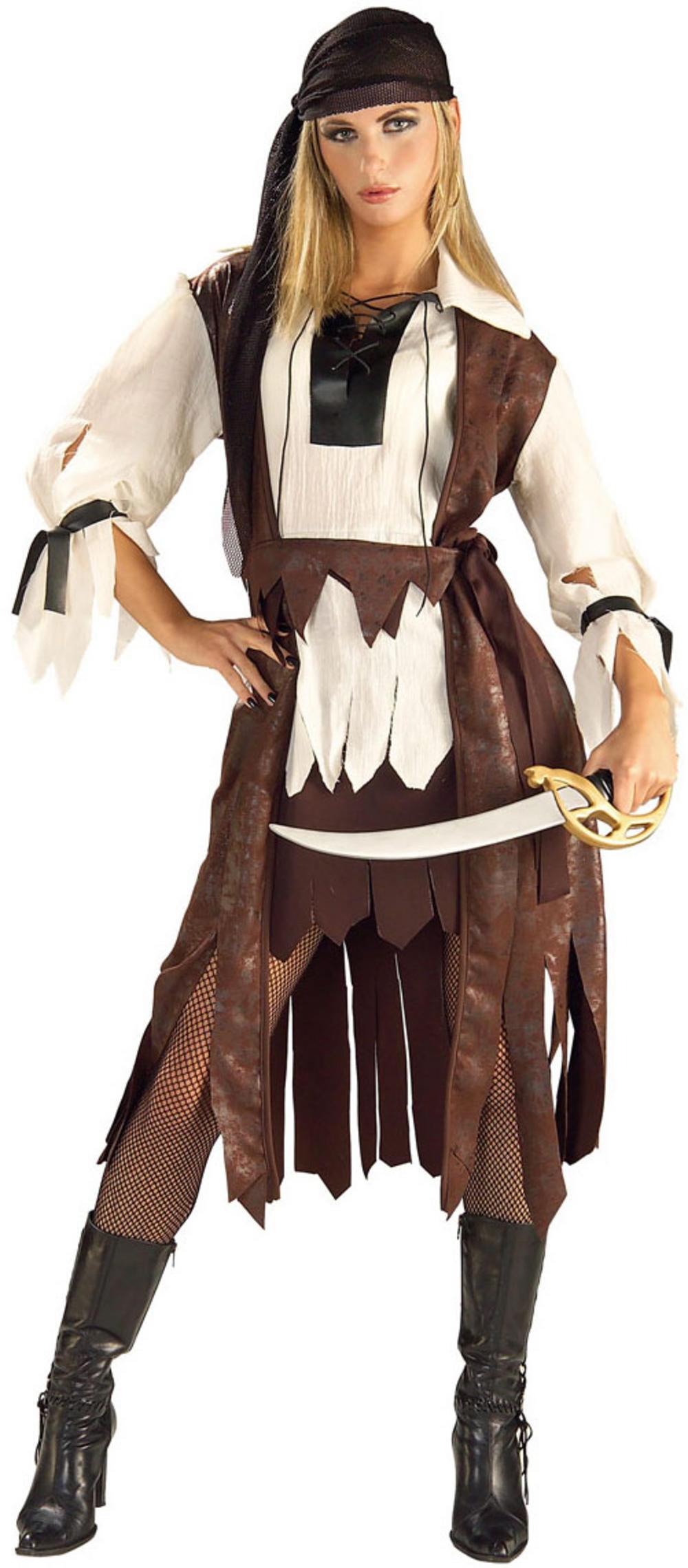 Caribbean Pirate Babe Ladies Costume