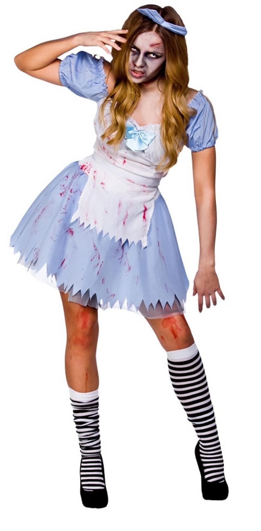 Alice in Zombieland Halloween Costume