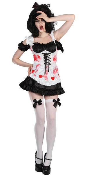 Zombie Queen of Hearts Halloween Costume