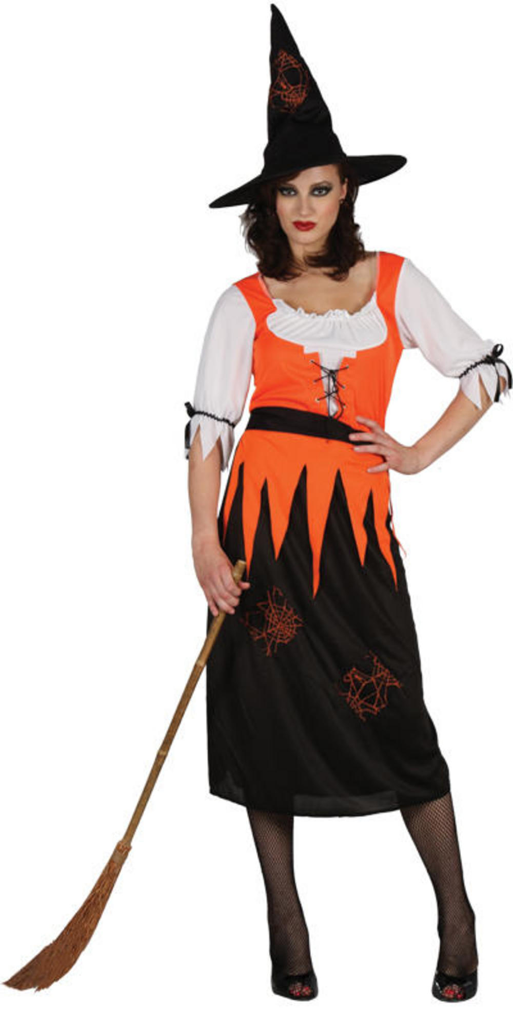 Witchy Witch Halloween Costume  sc 1 st  Mega Fancy Dress & Witchy Witch Halloween Costume | All Ladies Costumes | Mega Fancy Dress