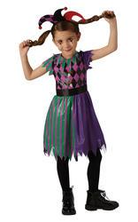 Harley Jester Kids Costume