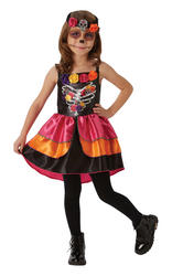 Sugar Skull Kids Halloween Costume