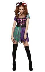 Harley Jester Adult's Costume