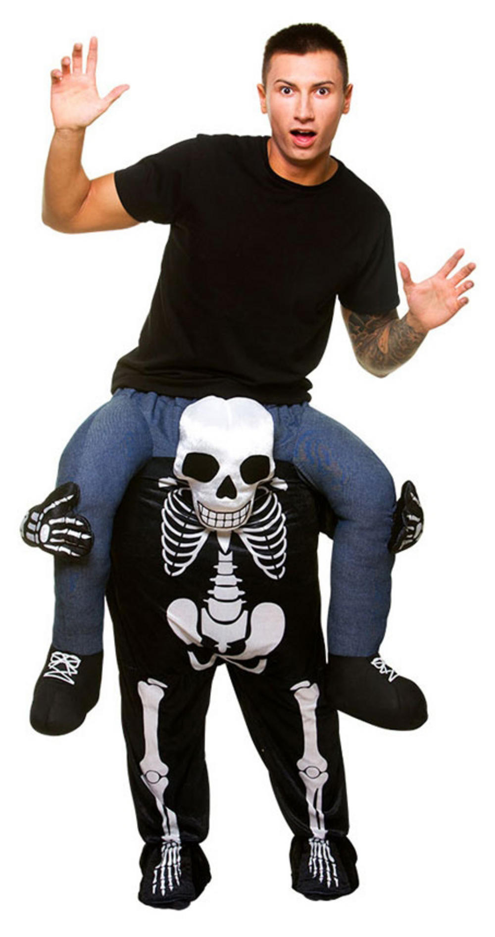 Carry Me Skeleton Adult's Costume