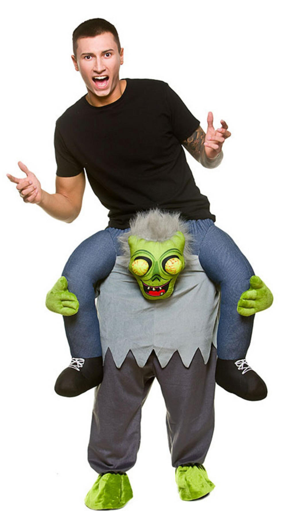 Carry Me Zombie Adults Costume