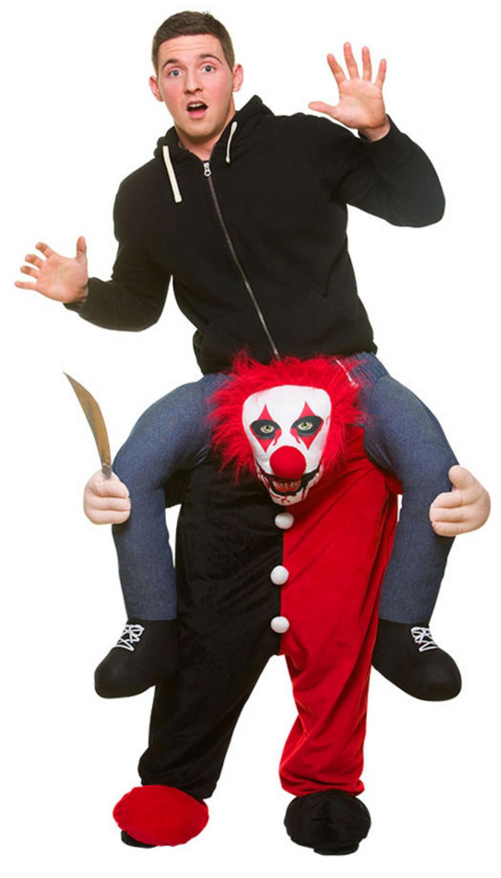 Carry Me Killer Clown Adult's Costume