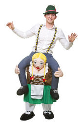 Carry Me Bavarian Girl Adults Costume