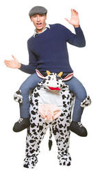 Carry Me Cow Adults Costume