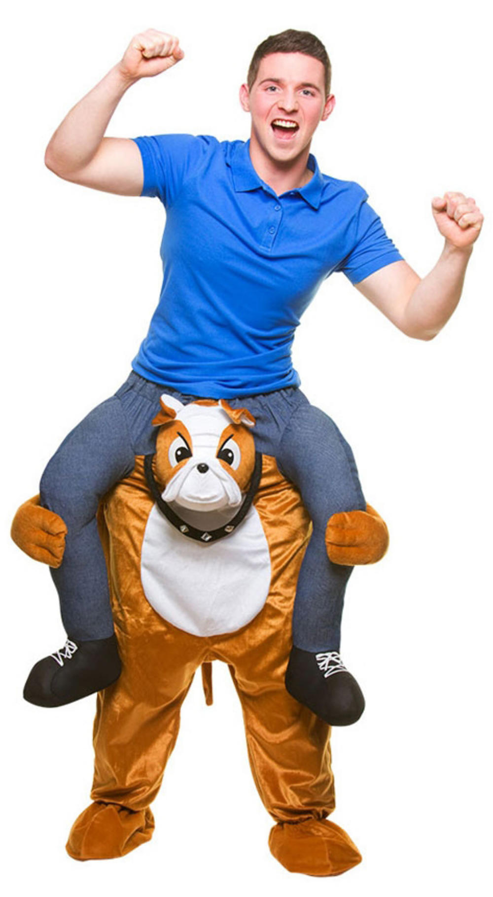Carry Me Bulldog Adult's Costume