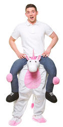 Carry Me Unicorn Adult's Costume