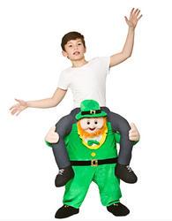 Carry Me Leprechaun Kids Costume