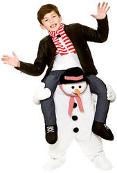 Carry Me Snowman Kids Costume