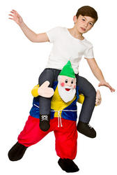 Carry Me Funny Gnome Kids Costume