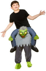 Carry Me Zombie Kids Costume