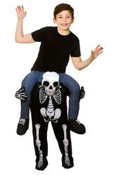 Carry Me Skeleton Kids Costume