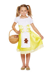 Porridge Girl Kids Costume