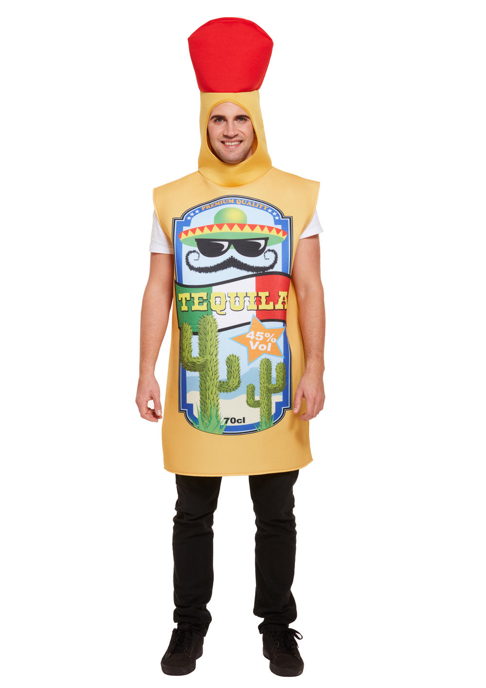 Tequila Bottle Adult's Costume
