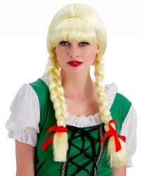 Bavarian Beer Girl Ladies Wig