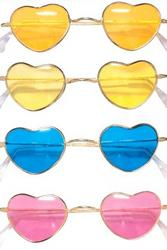 Heart Shaped Cool Hippy Glasses
