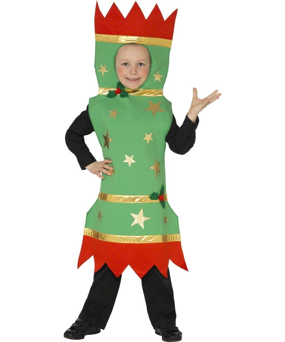 Christmas Fancy Dress Kids.Details About Christmas Cracker Kids Fancy Dress Xmas Novelty Festive Boys Girls Child Costume
