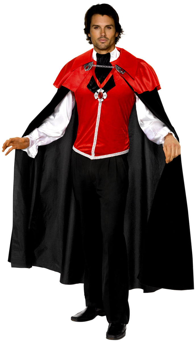 sentinel deluxe count dracula vampire mens halloween fancy dress adult costume outfit ml - Halloween Dracula Costumes