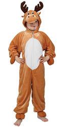Kids Reindeer Fancy Dress Costume