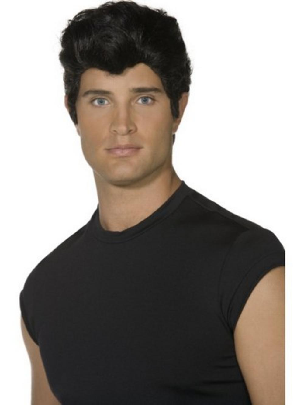 Danny zuko black t shirt - Grease Danny Zuko Wig