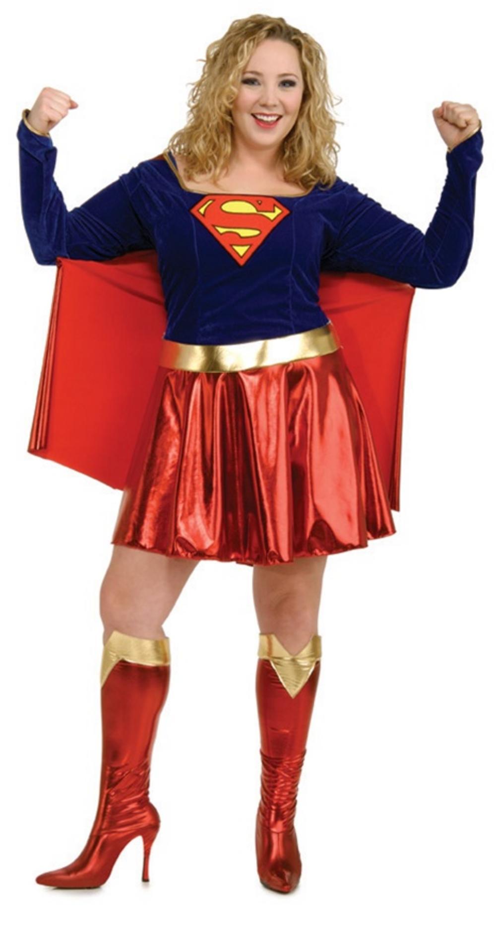 Super Girl Plus Size Costume