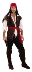 Caribbean Pirate Fancy Dress