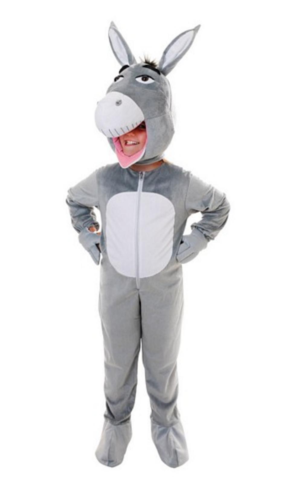 Kid S Shrek Donkey Costume Girl S World Book Day Fancy