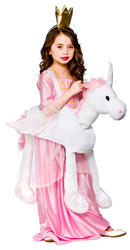 Girls Ride On Unicorn Costume