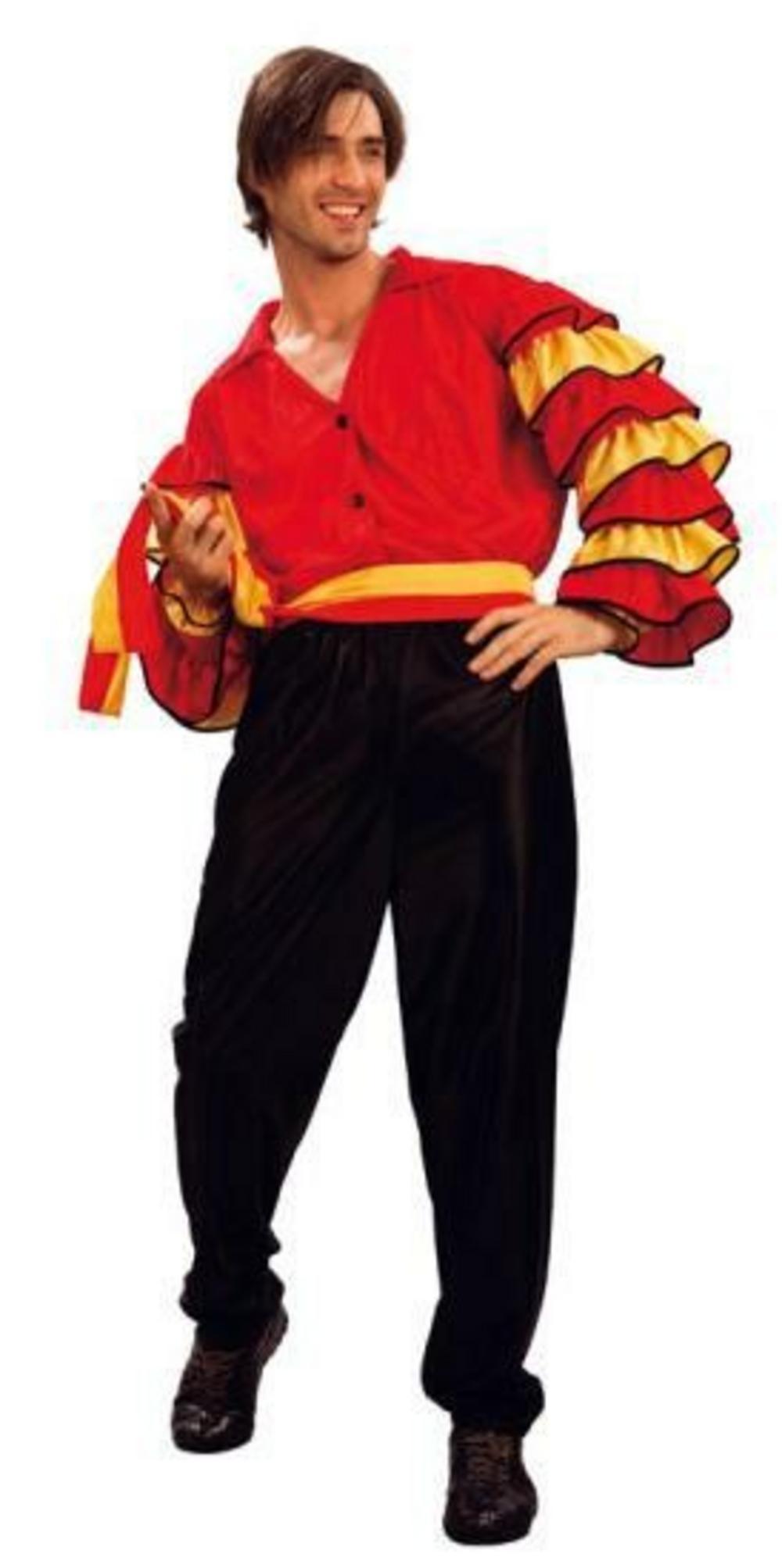 Spanish Rumba Man Flamenco Dancer Costume | Fun Fancy Dress | Mega Fancy Dress