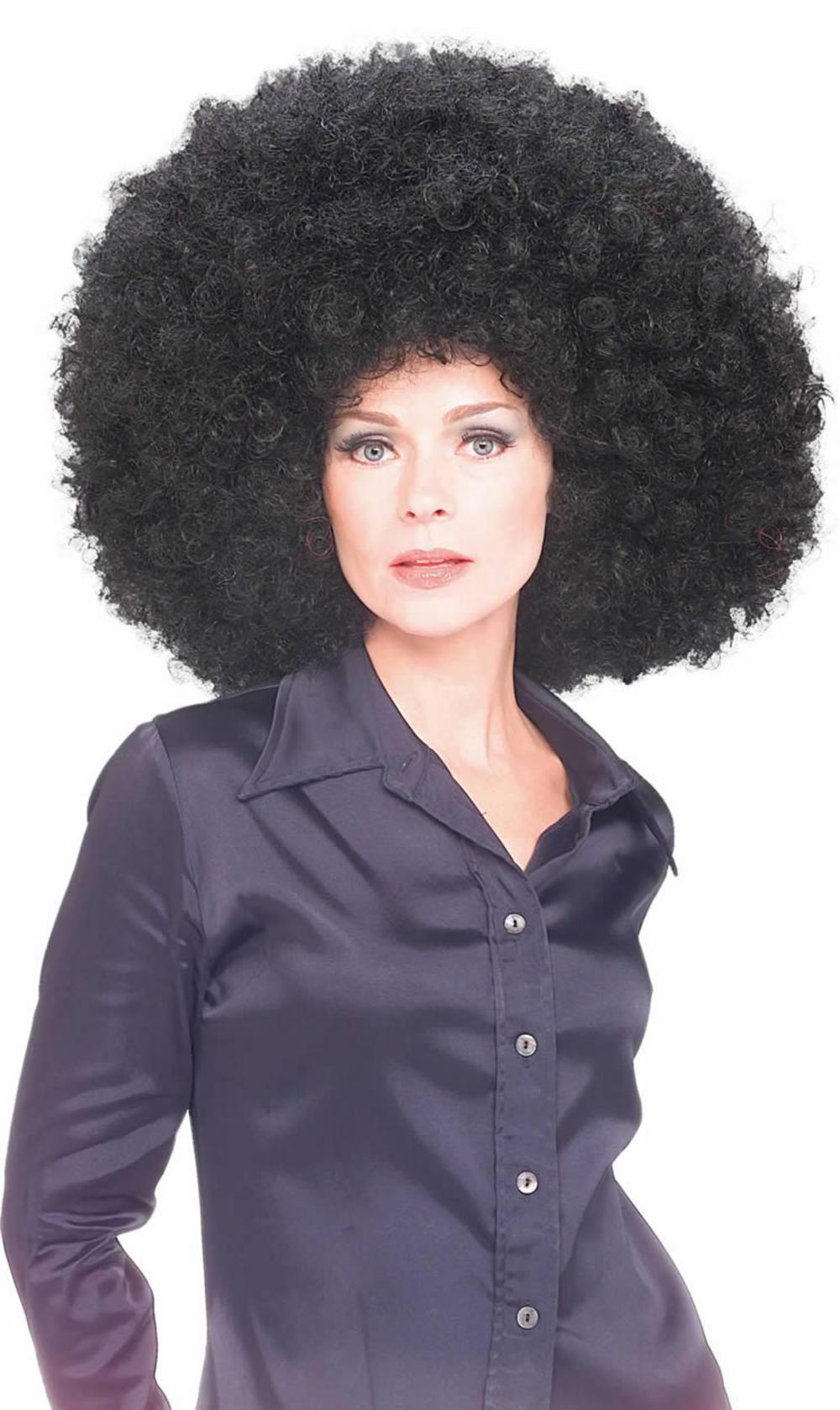 Jumbro Black Afro Wig  360470025